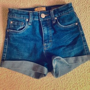 STS high waist short shorts size 0